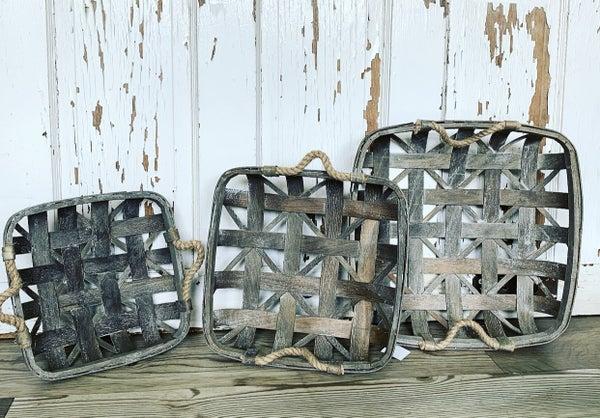 Square Tobacco Basket