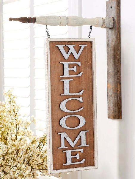 Double Sided Welcome Arrow Replacement Hanger