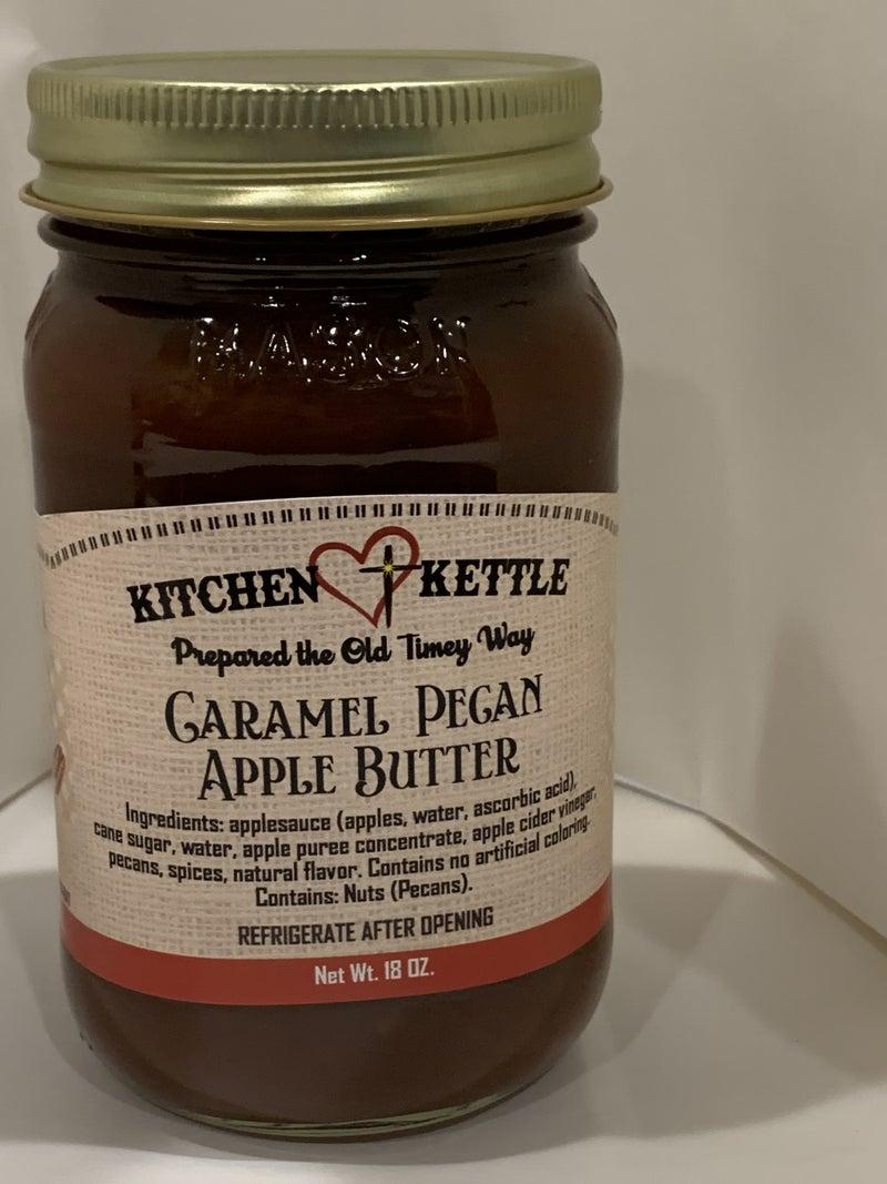 Carmel Pecan Apple Butter