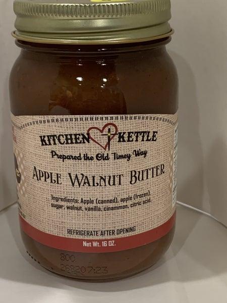 Apple Walnut Butter