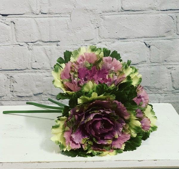 Purple Cabbage Bouquet