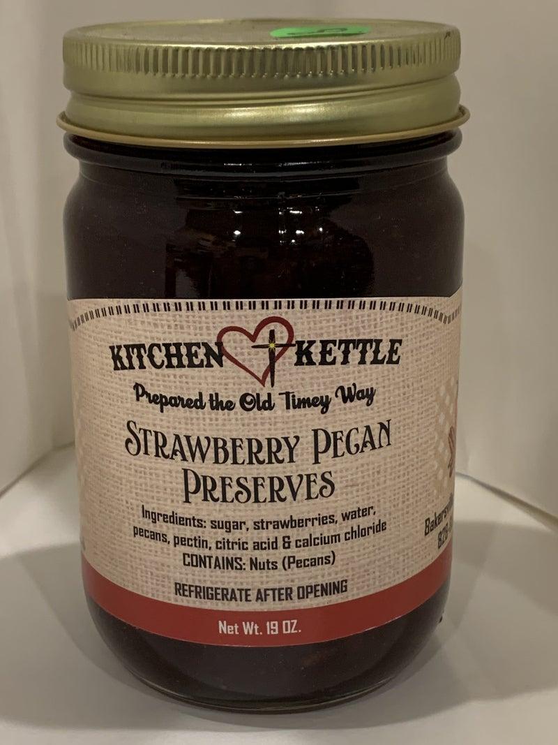 Strawberry Pecan Preserves