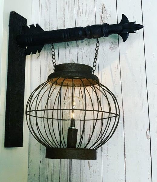 Vintage Lantern with Bulb