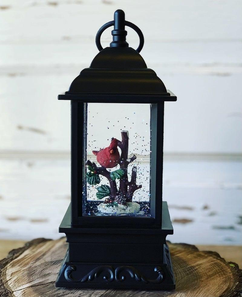 Cardinal Water Lantern