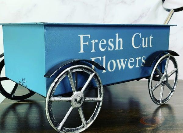 Fresh Flowers Cart