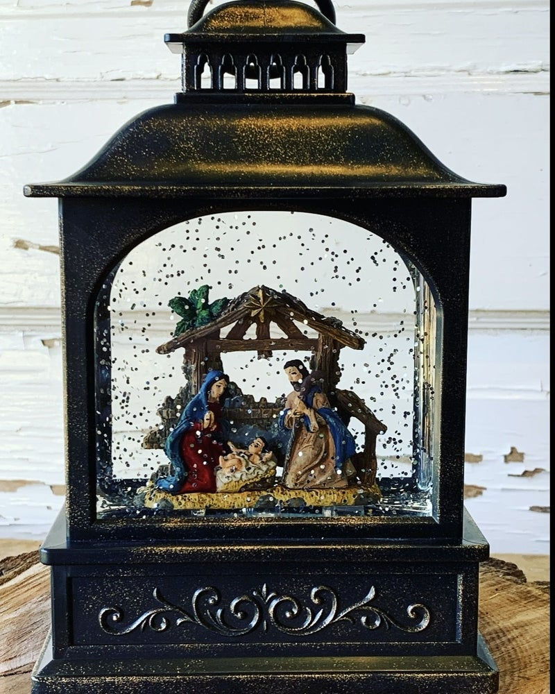 Nativity Water Lantern