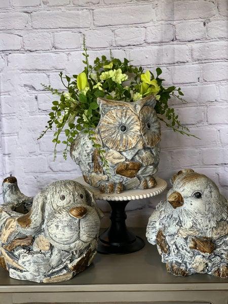 Clay Animal Flower Pot