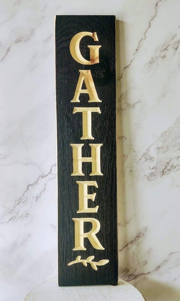 """24"""" Vertical Gather Sign"""