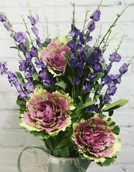 Lavender and Eva Bush