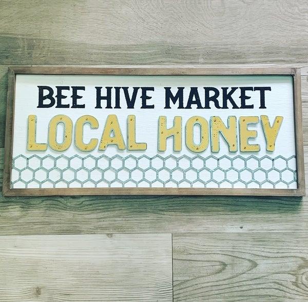 31 1/2' Local Honey Sign