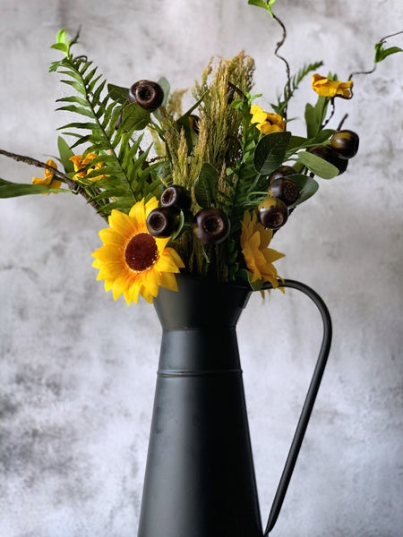 "14.5"" Sunflower Pick"
