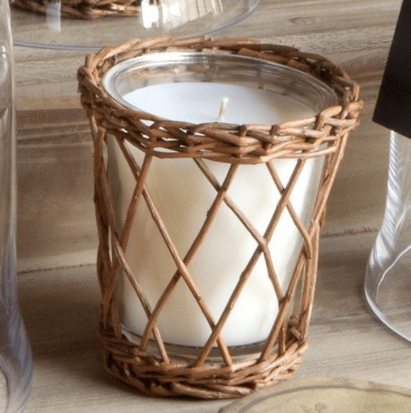 Wicker Soy Candle