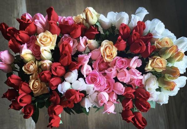 Real Feel Rose Bundle of 6