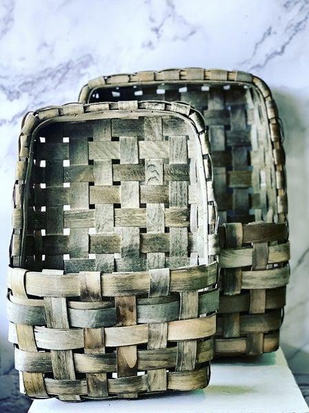 Pocketed Tobacco Basket Set