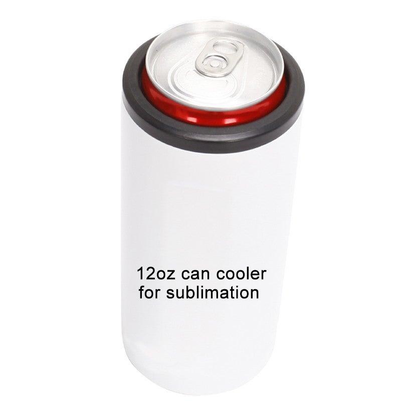 Slim Sublimation Can Cooler Koozie