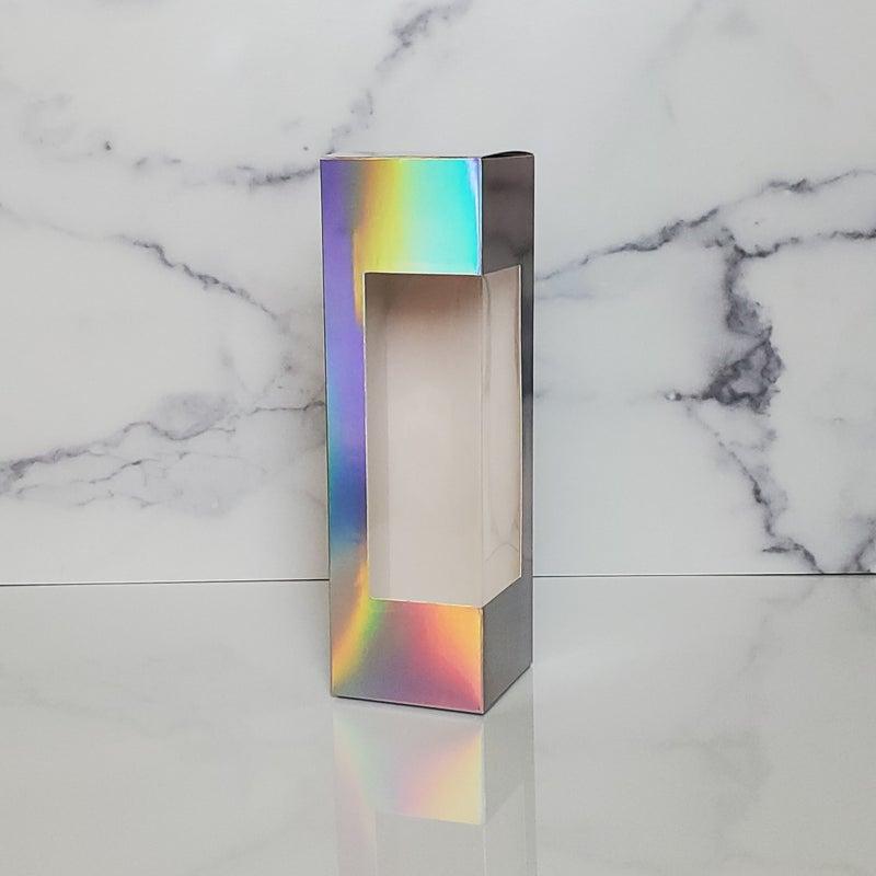 Holographic Tumbler Display Box