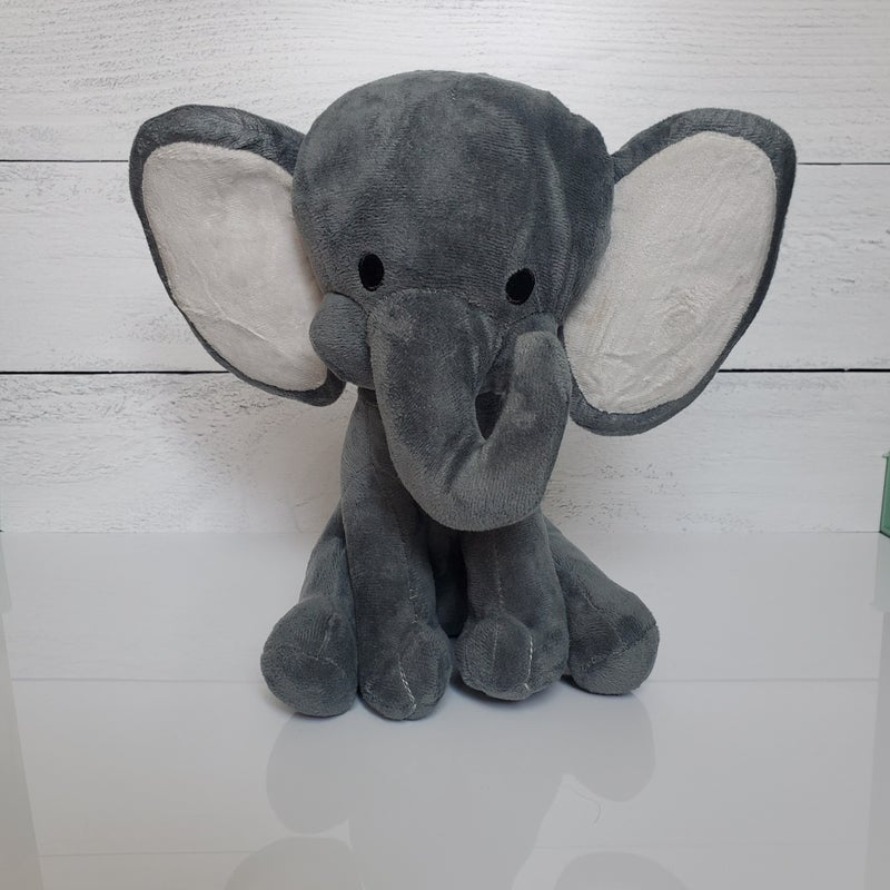 Children's Stuffed Elephant