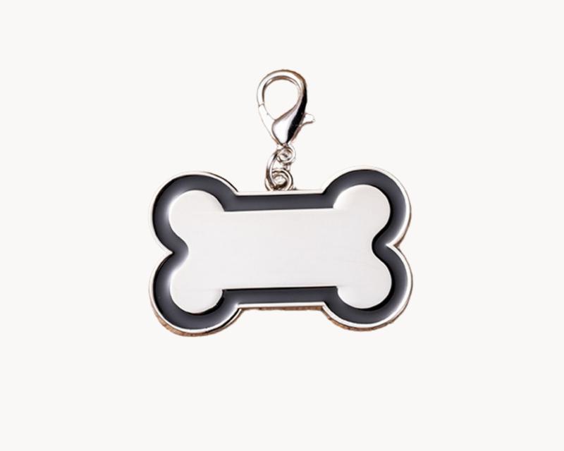 Sublimation Dog Tag with Black Trim