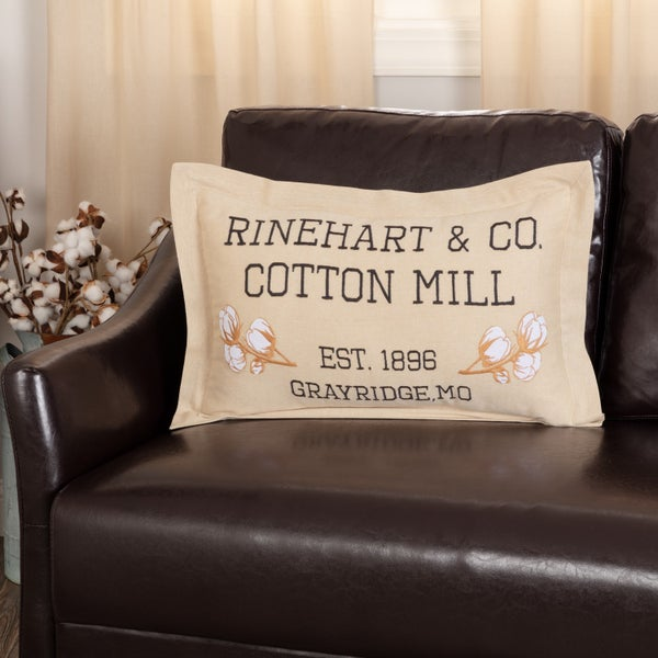 Ashmont Cotton Mill Pillow