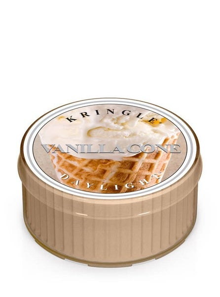 Kringle Daylight Candle - Vanilla Cone