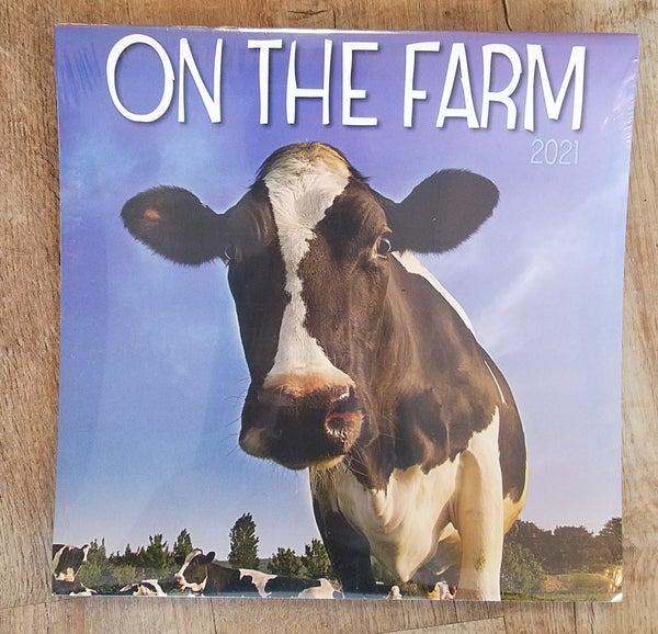 2021 Wall Calendar, On The Farm