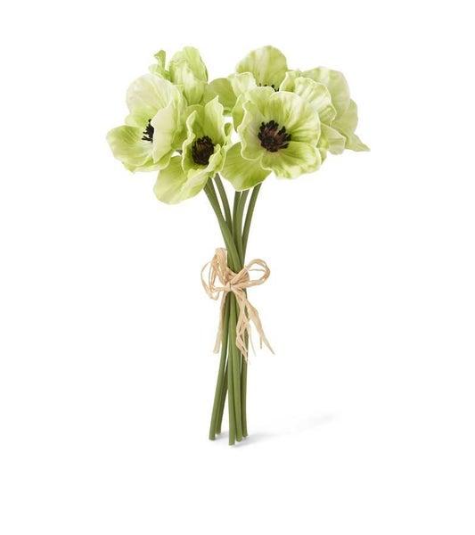 Poppy Single Stem - Green