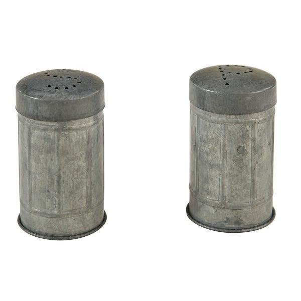 Metal Salt & Pepper Set
