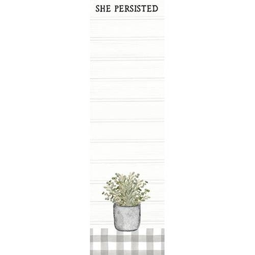 Magnetic Notepad - She Persisted