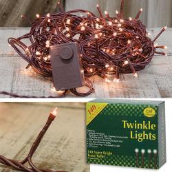 Twinkle Light String, 140 bulbs