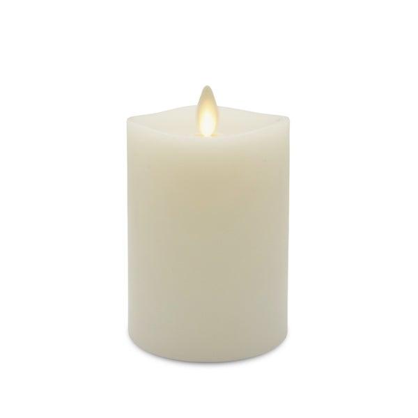"""Luminara Pillar Candle, 3"""" x 7"""""""