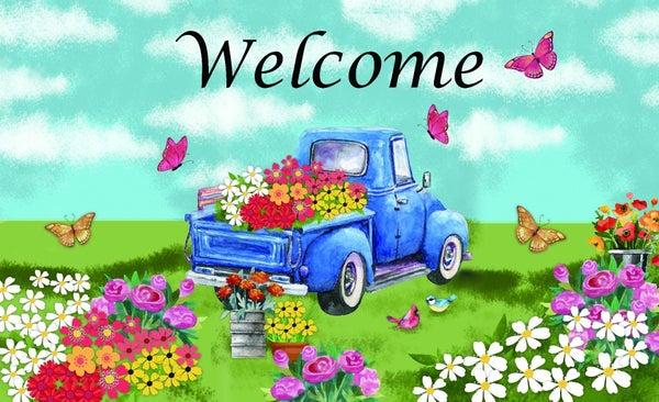 Floor Mat - Blue Spring Truck