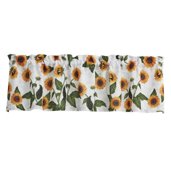 Valance - Sunflower Toile