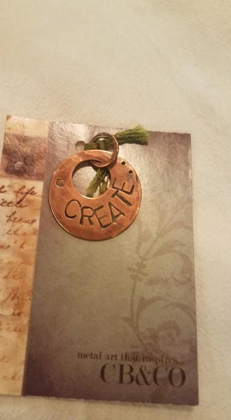 Handmade Copper Charm, Create