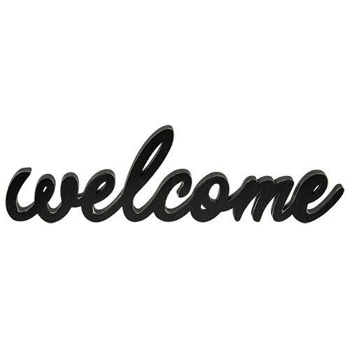 Hanging Sign - Welcome