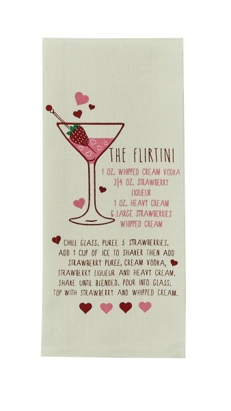 Dishtowel - Flirtini