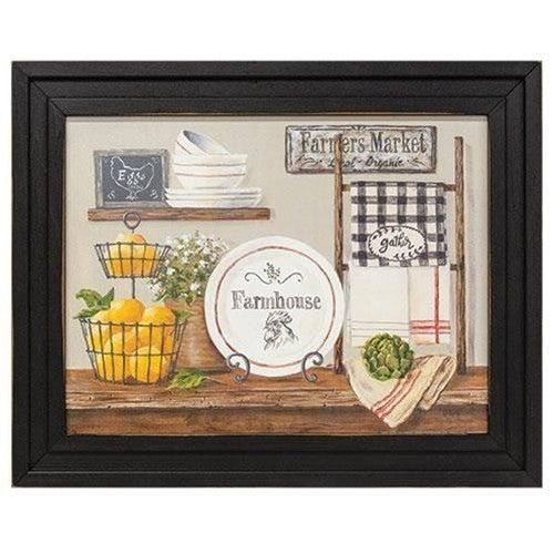 Framed Print - Farmhouse Print