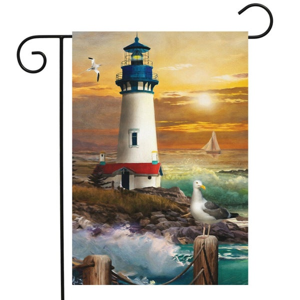 Garden Flag - Lighthouse