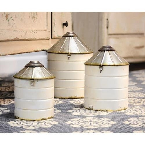 Silo Canister Set of 3
