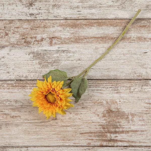 """15"""" Yellow Sunflower Pick"""