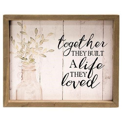Framed Sign - Together