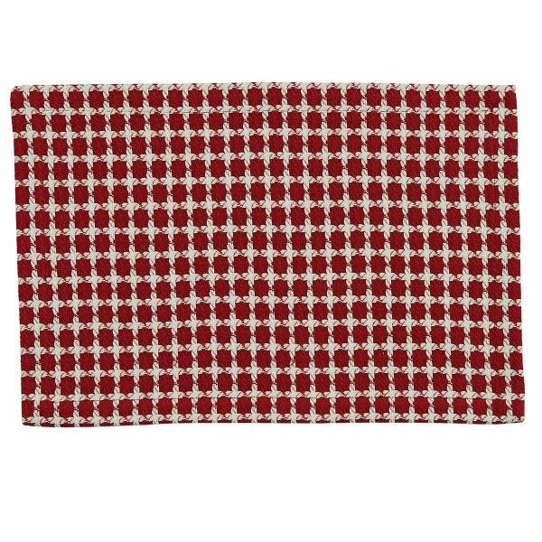 Placemat - Crossings Red