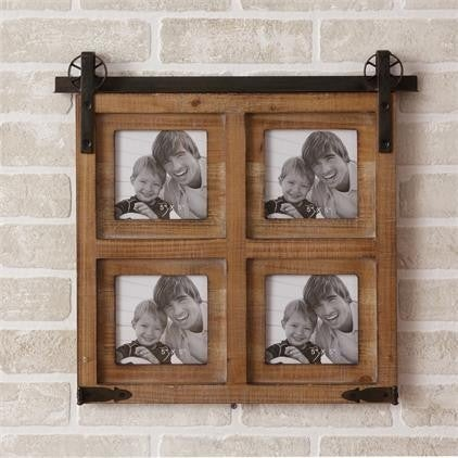 Picture Frame, Rolling Door Style