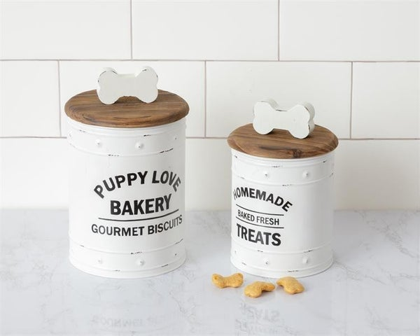 Puppy Treat Canister