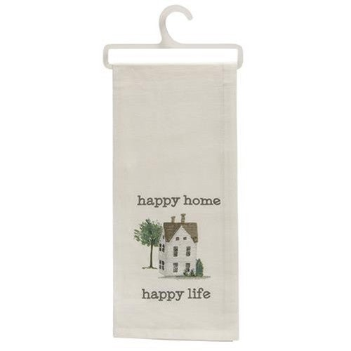 Dishtowel - Happy Home