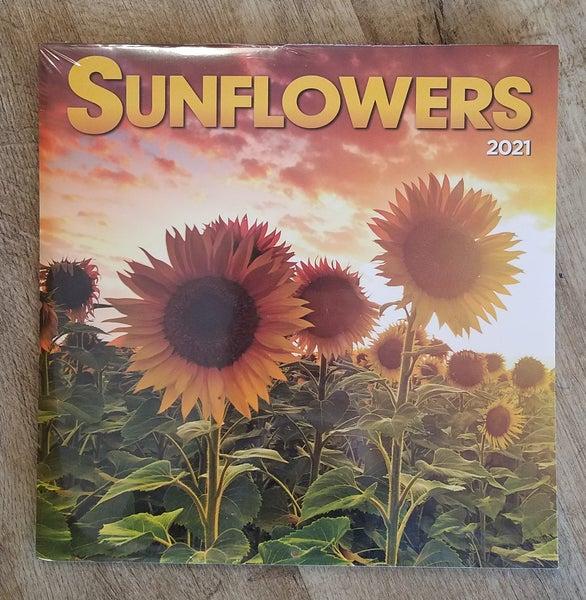 2021 Calendar, Sunflowers