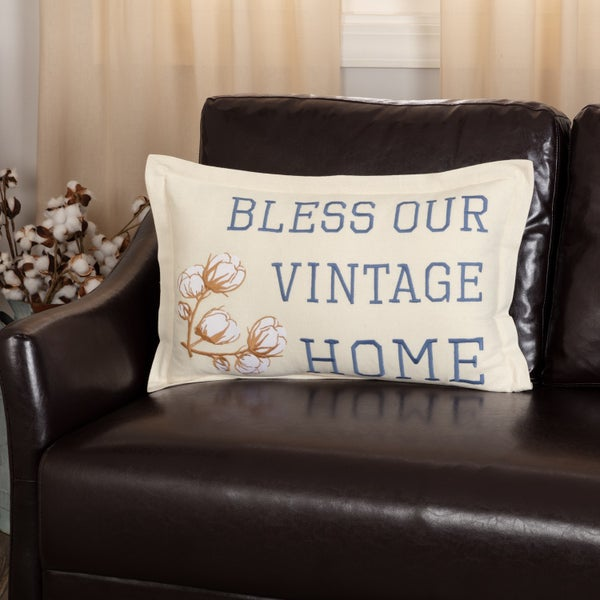 Ashmont Vintage Home Pillow