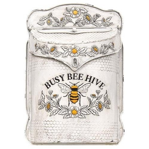 Busy Bee Metal Mail Box