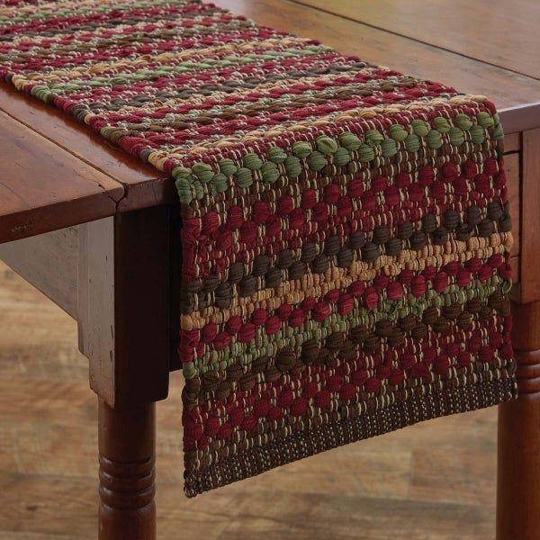 "Chindi Table Runner - 36"" Highrock"