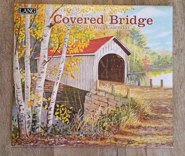 2021 Wall Calendar, Covered Bridges