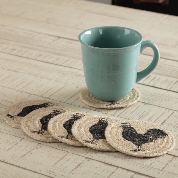 Braided Coaster, Sawyer Mill Poultry